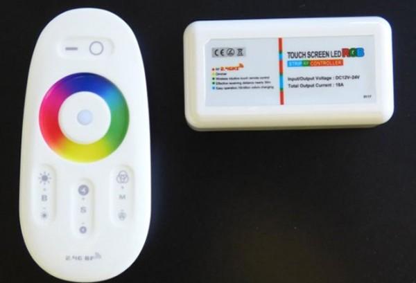 LED Controller RGB Radio-Frequenz Touch mit Fernbedienung