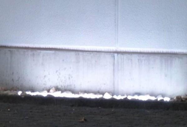 Umrandungs LED Beleuchtung - 180° Abstrahlwinkel - kaltweiß