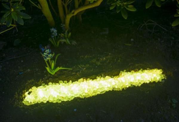 Umrandungs LED Beleuchtung - 180° Abstrahlwinkel - gelb