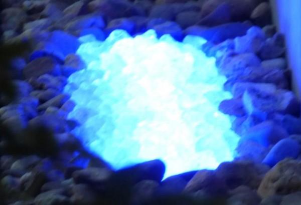 Umrandungs LED Beleuchtung - 180° Abstrahlwinkel - blau