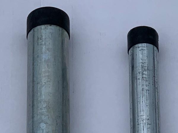 Stahlrohr - Rundrohr - Gewinderohr - verzinkt