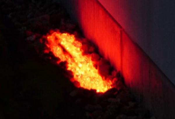 Umrandungs LED Beleuchtung - 180° Abstrahlwinkel - rot