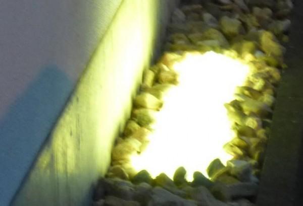 Umrandungs LED Beleuchtung - 180° Abstrahlwinkel - warmweiß