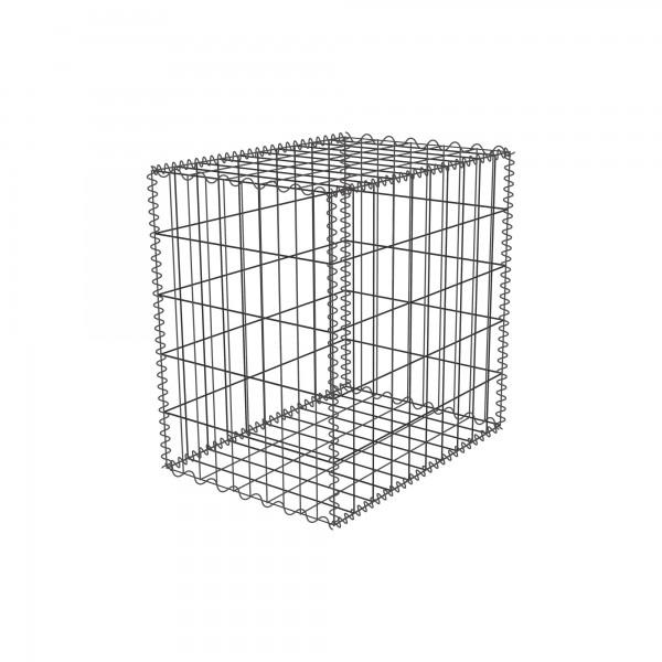 Gabione Zink-Aluminium 50 x 50 x 10-50 cm - Maschenweite 5x10