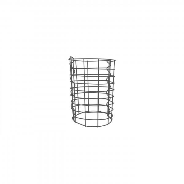 Gabione Rund Zink-Aluminium verschiedene Höhen - Maschenweite 5x10 cm