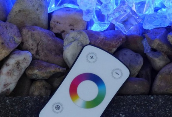 Umrandungs LED Beleuchtung - RGB Touch Controller - 180° Abstrahlwinkel